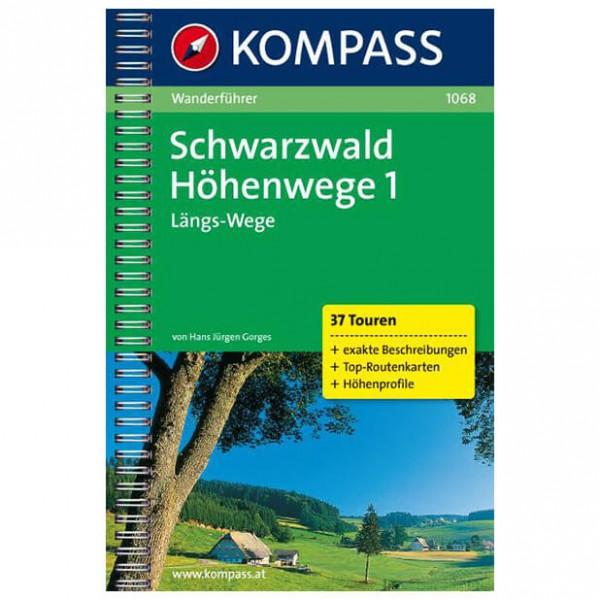 Kompass - Schwarzwald Höhenwege 1 - Guides de randonnée