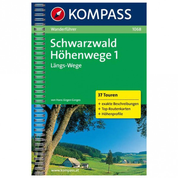 Kompass - Schwarzwald Höhenwege 1 - Wandelgids