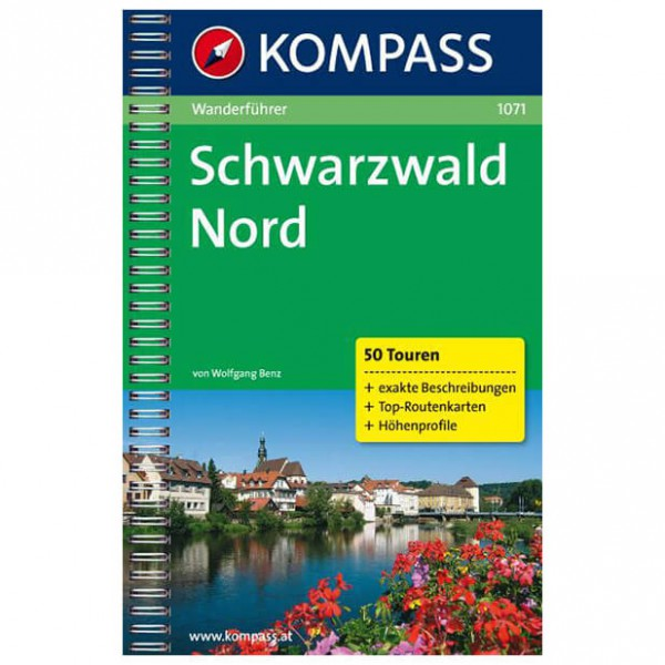 Kompass - Schwarzwald Nord - Walking guide books