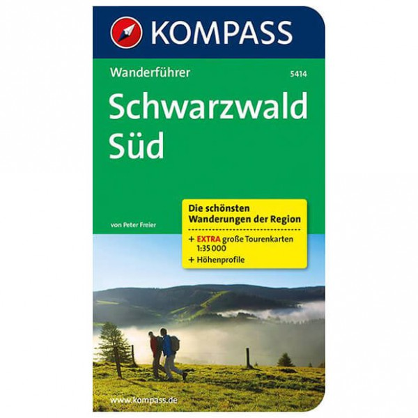 Kompass - Schwarzwald Süd - Guías de senderismo