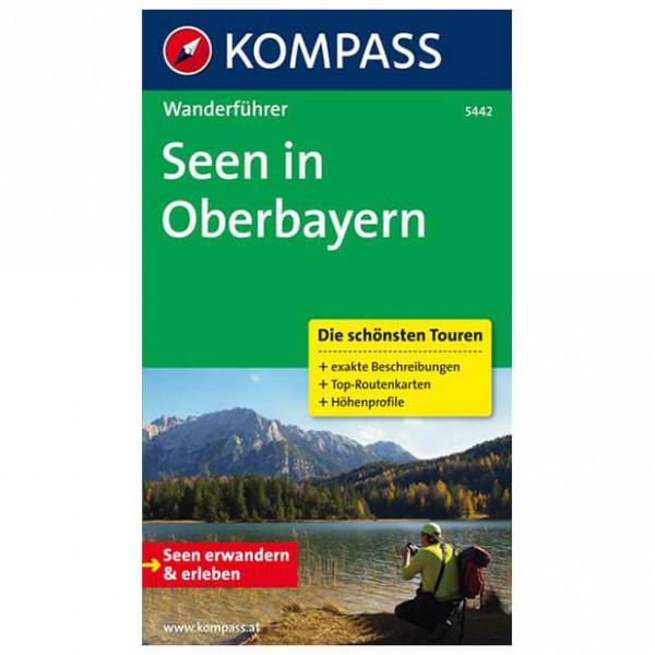 Kompass - Seen in Oberbayern - Walking guide book