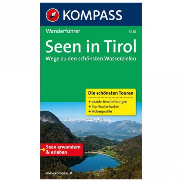 Kompass - Seen in Tirol - Wandelgidsen