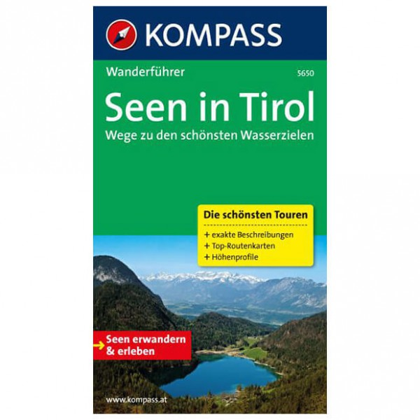 Kompass - Seen in Tirol - Wanderführer