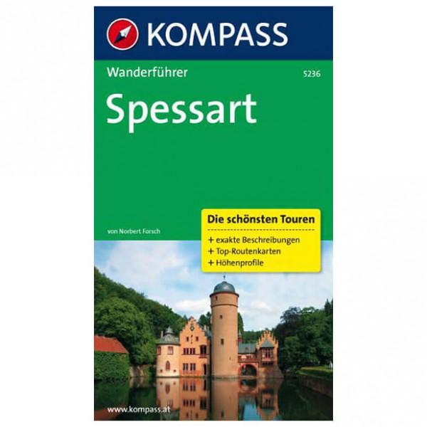 Kompass - Spessart - Walking guide book