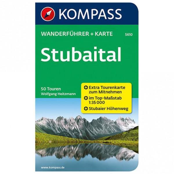 Kompass - Stubaital - Walking guide books