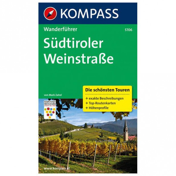 Kompass - Südtiroler Weinstraße - Vaellusoppaat