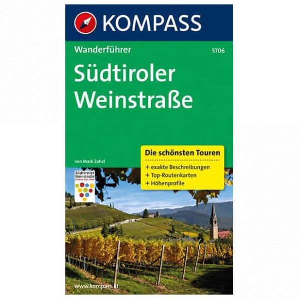 Kompass - Südtiroler Weinstraße - Walking guide books