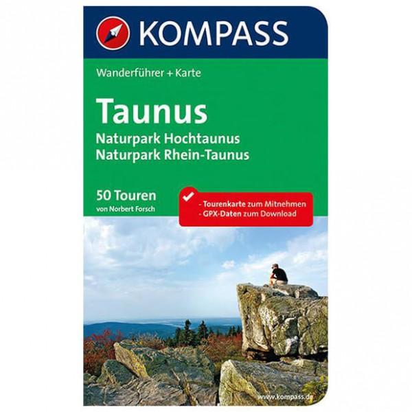 Kompass - Taunus, Naturparks Hochtaunus und Rhein-Taunus - Walking guide book