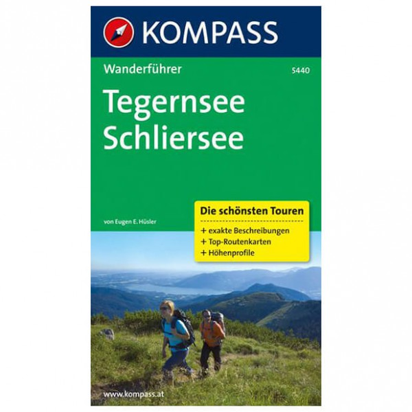 Kompass - Tegernsee - Walking guide books