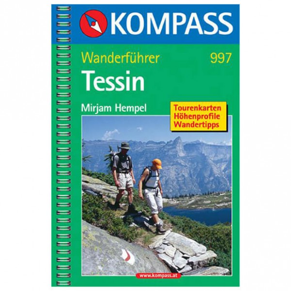 Kompass - Tessin - Guides de randonnée