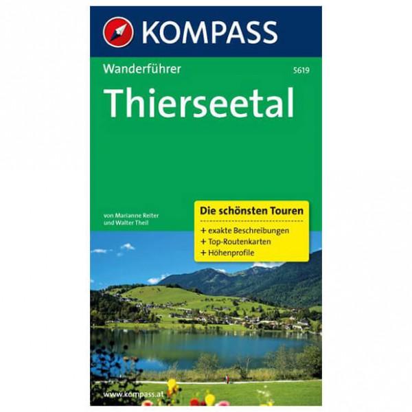 Kompass - Thierseetal - Walking guide books