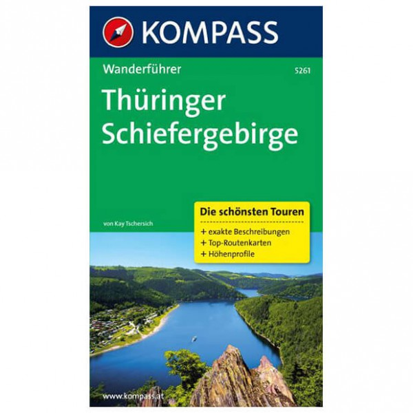 Kompass - Thüringer Schiefergebirge - Walking guide books