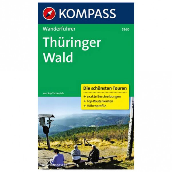 Kompass - Thüringer Wald - Walking guide book