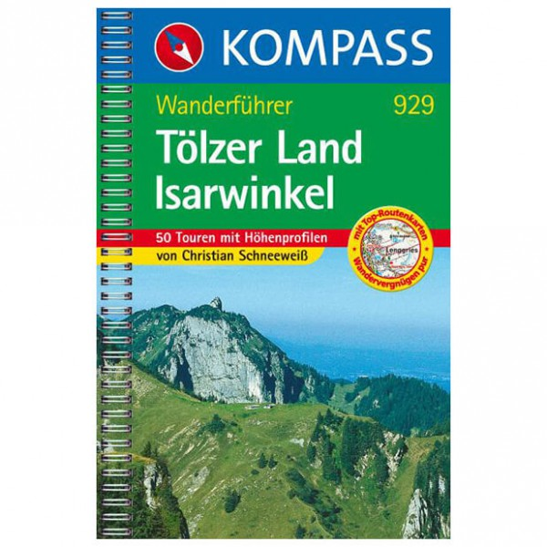 Kompass - Tölzer Land /Isarwinkel - Walking guide books