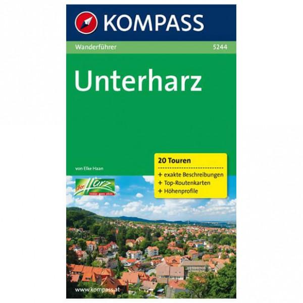 Kompass - Unterharz - Wanderführer