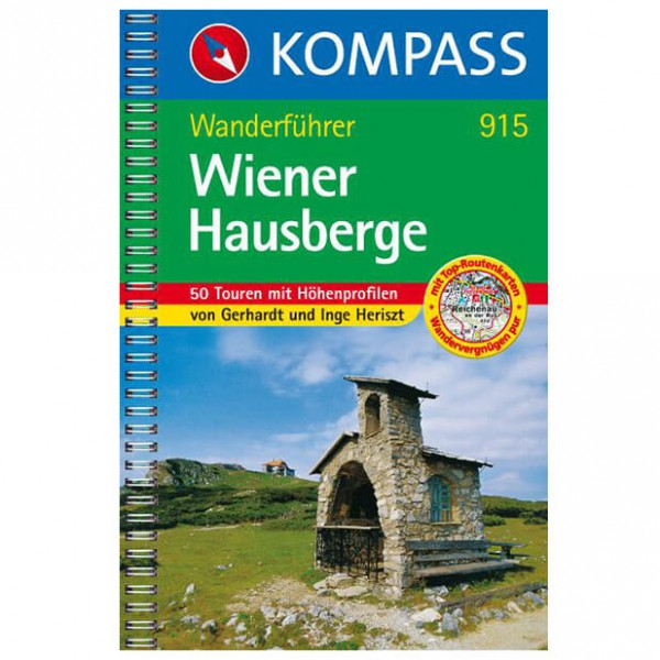 Kompass - Wiener Hausberge - Walking guide books