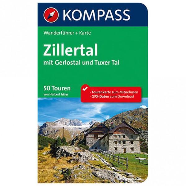 Kompass - Zillertal mit Gerlostal und Tuxer Tal