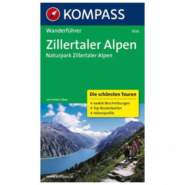 Kompass - Zillertaler Alpen - Walking guide books