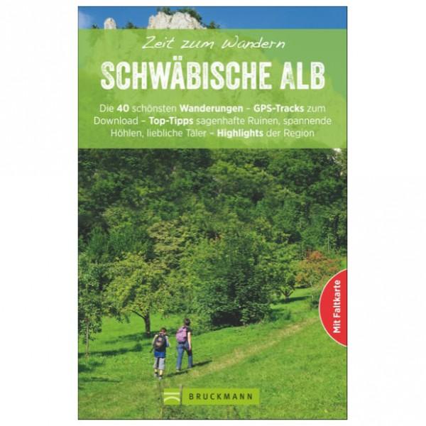 Bruckmann - Zeit zum Wandern Schwäbische Alb - Vaellusoppaat