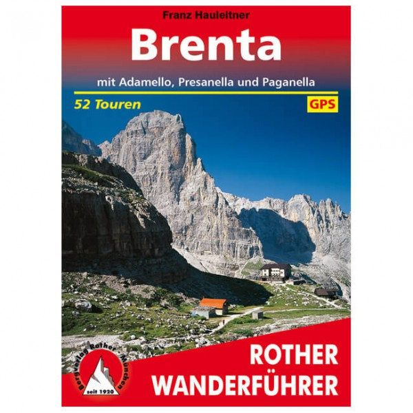 Bergverlag Rother - Brenta - Walking guide book