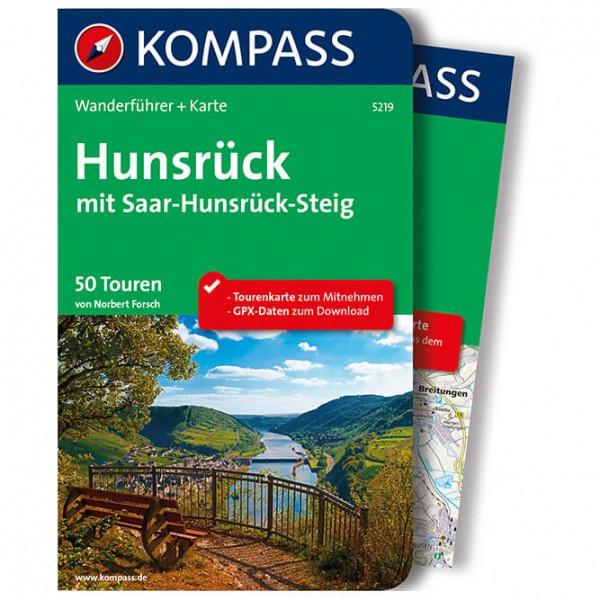 Kompass - Hunsrück mit Saar-Hunsrück-Steig - Walking guide book