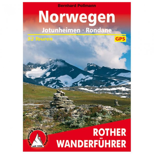 Bergverlag Rother - Jotunheimen / Rondane - Vandreguides