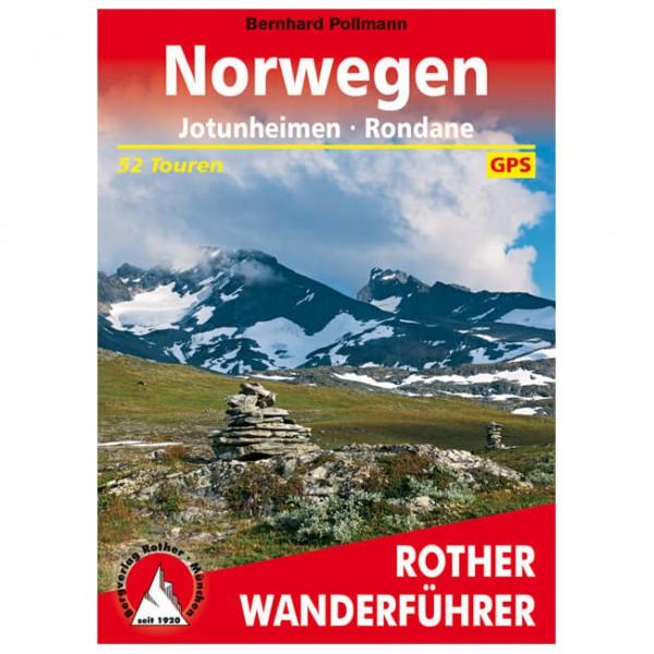 Bergverlag Rother - Jotunheimen / Rondane - Vandringsguider