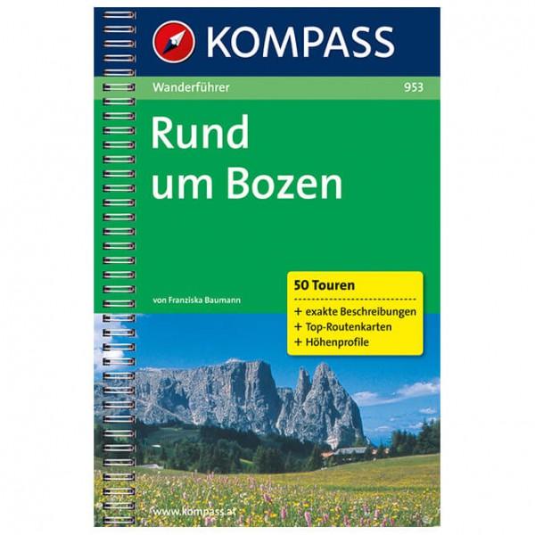 Kompass - Rund um Bozen - Vandringsguider