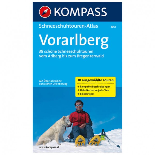 Kompass - Schneeschuhwandern in Vorarlberg - Vaellusoppaat