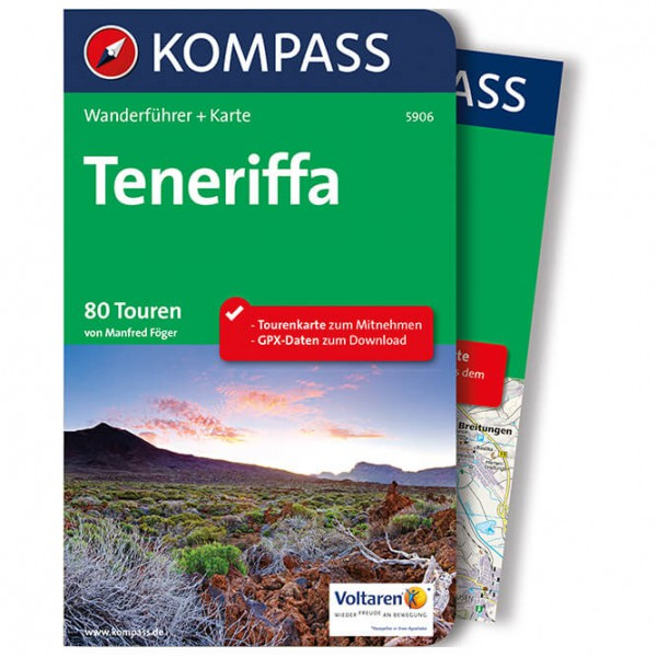 Kompass - Teneriffa - Vandringsguider