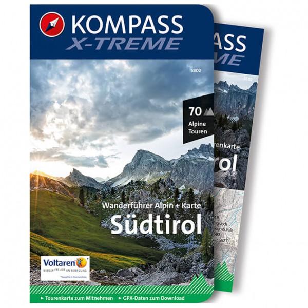 Kompass - X-treme Südtirol mit Karte - Vaellusoppaat