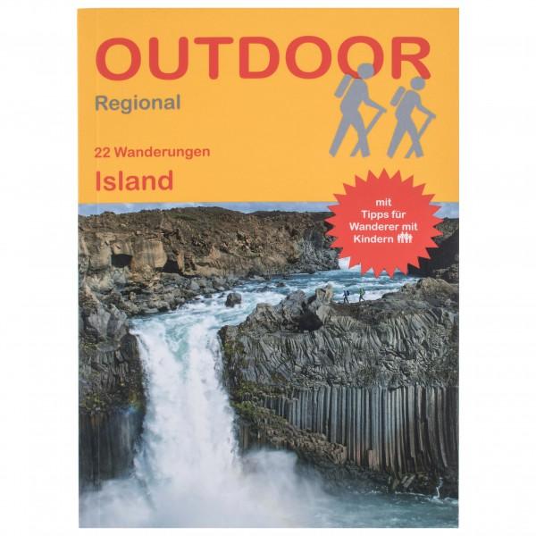 Conrad Stein Verlag - 25 Wanderungen Island - Vandringsguider