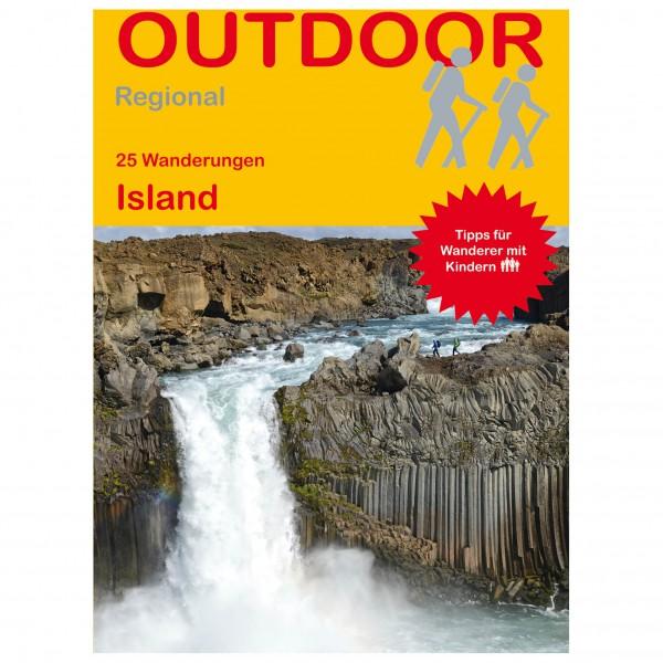 Conrad Stein Verlag - 25 Wanderungen Island - Vandreguides