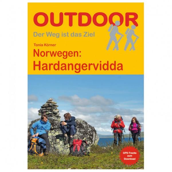 Conrad Stein Verlag - Norwegen: Hardangervidda - Vaellusoppaat