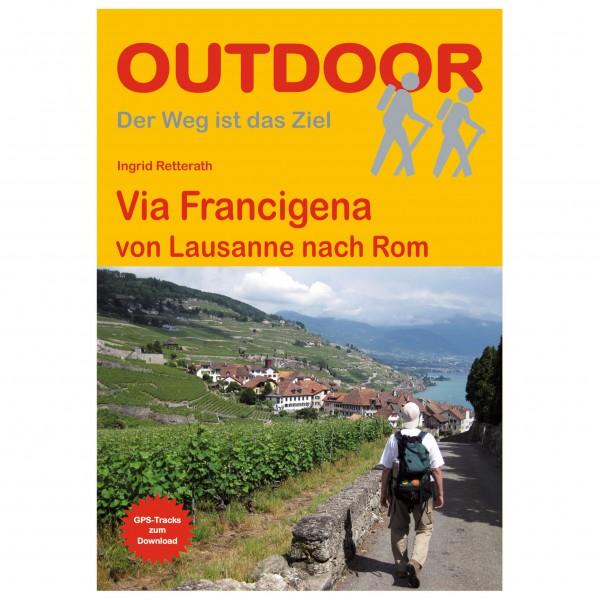 Conrad Stein Verlag - Via Francigena von Lausanne nach Rom - Wanderführer