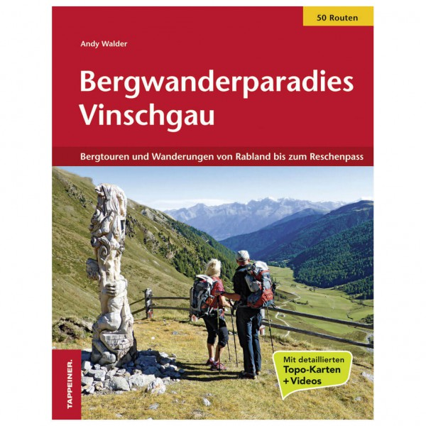 Tappeiner - Bergwanderparadies Vinschgau - Walking guide book