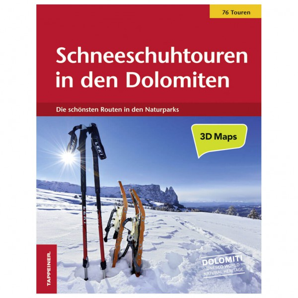 Tappeiner - Schneeschuhtouren in den Dolomiten - Walking guide book