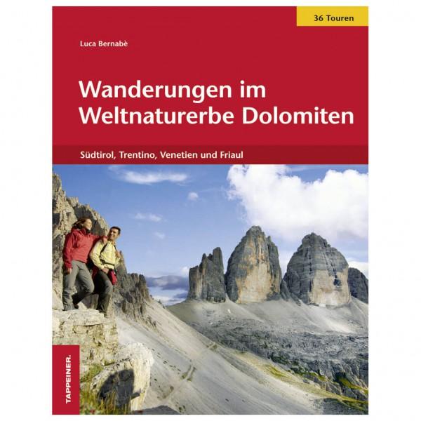 Tappeiner - Wanderungen im Weltnaturerbe Dolomiten - Vandreguides