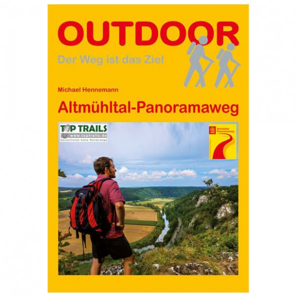 Conrad Stein Verlag - Altmühltal-Panoramaweg - Vaellusoppaat
