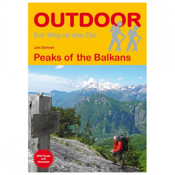 Peaks of the Balkans - Walking guide book