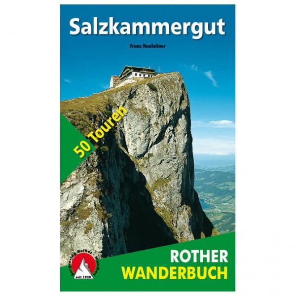 Bergverlag Rother - Wanderbuch Salzkammergut - Walking guide book