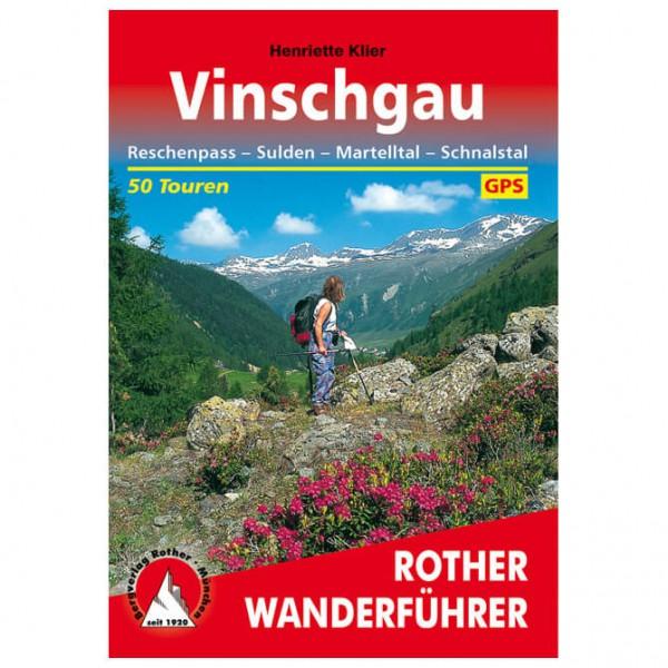 Bergverlag Rother - Wanderführer Vinschgau - Turguider