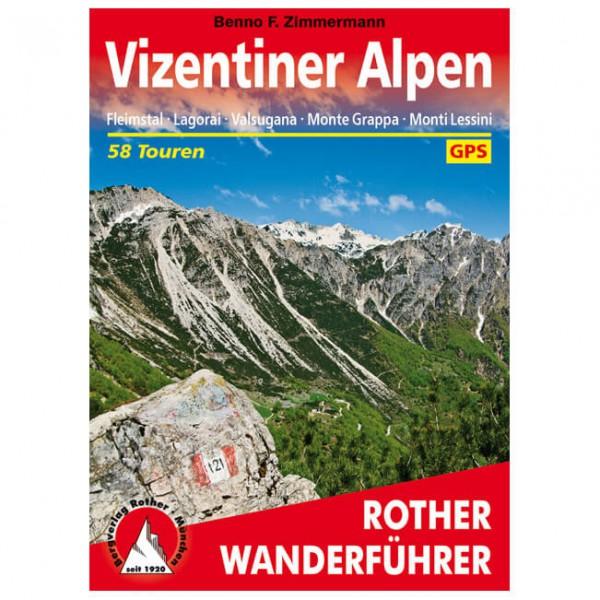 Bergverlag Rother - Wanderführer Vizentiner Alpen - Walking guide book