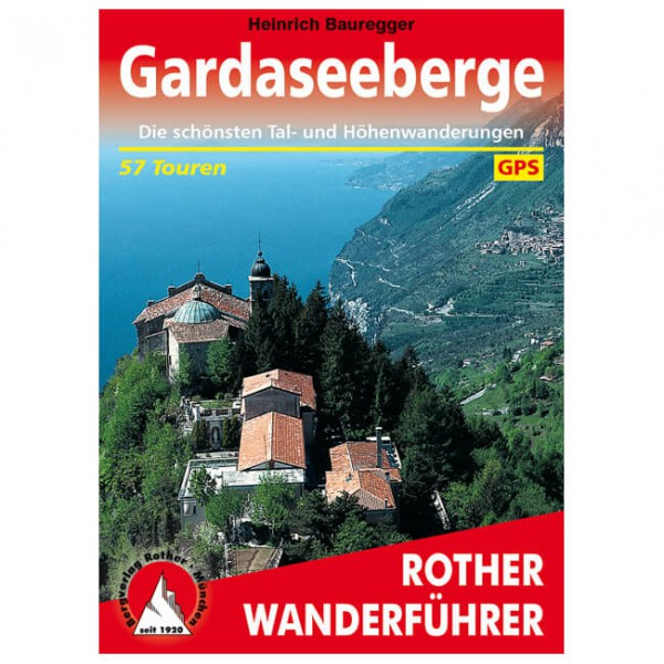Bergverlag Rother - Gardaseeberge - Walking guide book