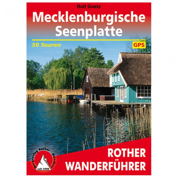 Bergverlag Rother - Wanderführer Mecklenburgische Seenplatte - Walking guide book