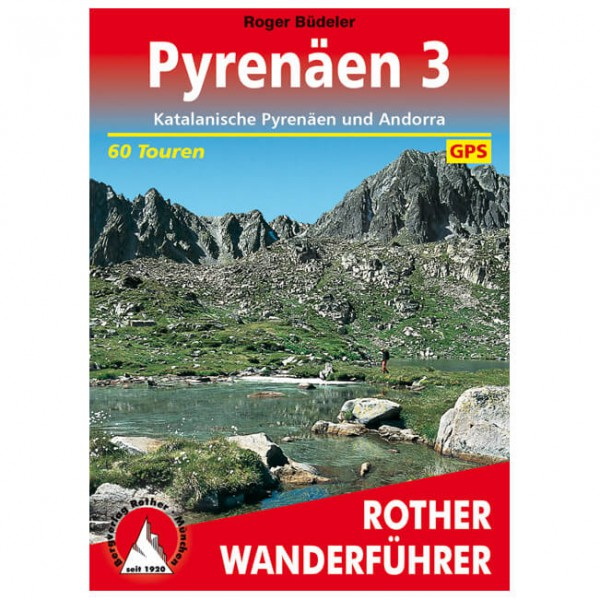 Bergverlag Rother - Pyrenäen 3 - Walking guide book