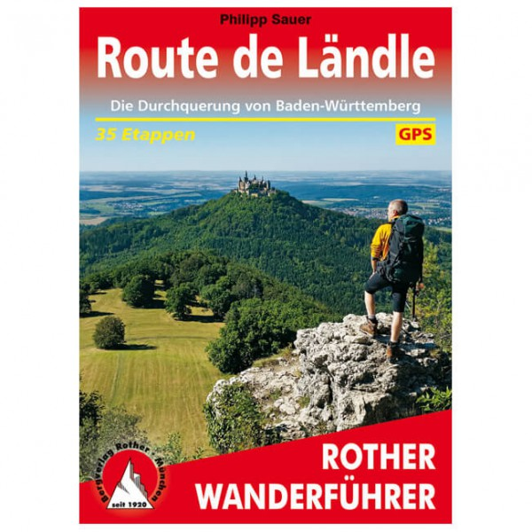 Bergverlag Rother - Route de Ländle - Walking guide book