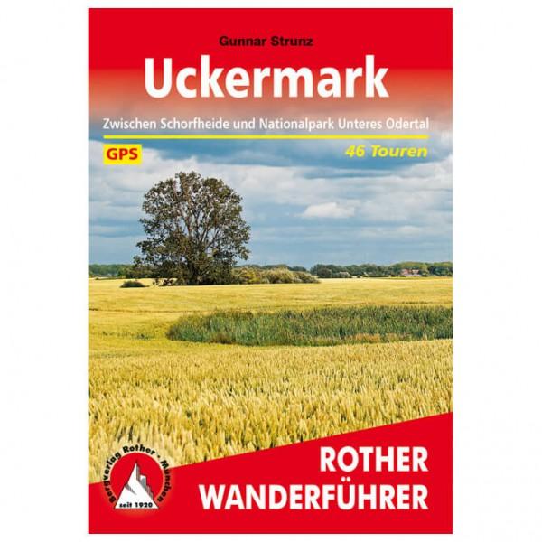 Bergverlag Rother - Uckermark - Vandringsguider