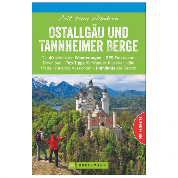 Bruckmann - Zeit zum Wandern Ostallgäu und Tannheimer Berge - Vandringsguider