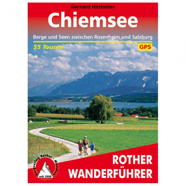 Bergverlag Rother - Chiemsee - Vandringsguider